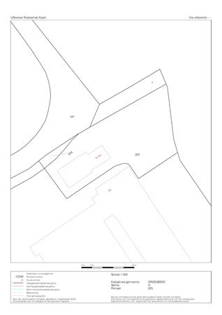 Floorplan - Wylerbaan 30, 6561 KR Groesbeek