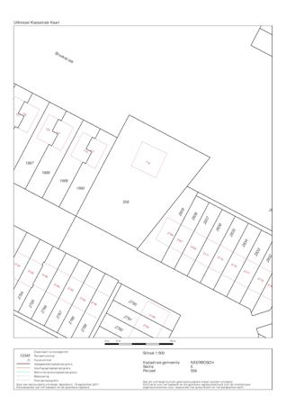 Floorplan - Broekstraat 115, 6546 AA Nijmegen
