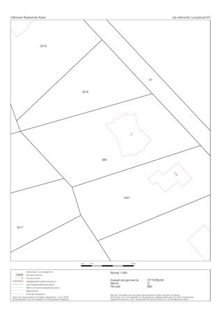 Floorplan - Langstraat 121, 6596 BN Milsbeek