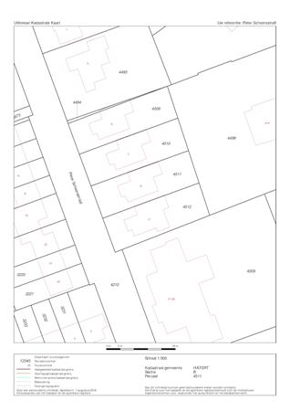 Floorplan - Peter Scheersstraat 9, 6525 DD Nijmegen