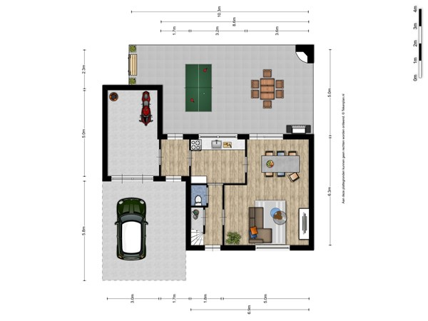 Floorplan - Gravenstraat 18, 6584 AP Molenhoek