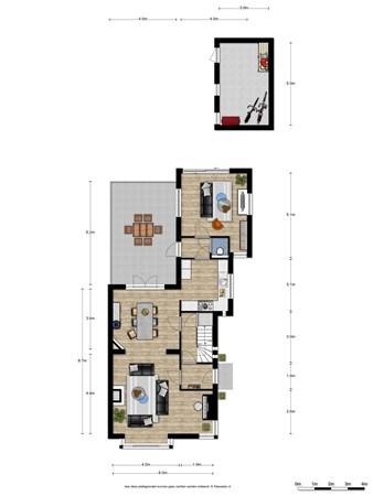 Floorplan - Nijmeegsebaan 148, 6564 CM Heilig Landstichting