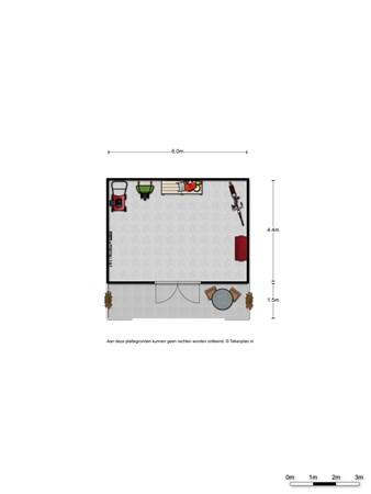 Floorplan - Kruidenstraat 68, 6681 NH Bemmel