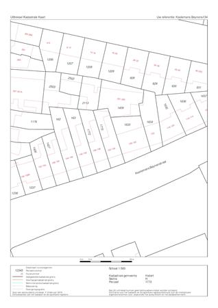 Floorplan - Koolemans Beynenstraat 134, 6521 EZ Nijmegen