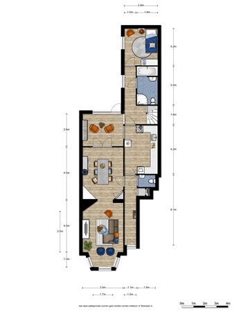 Floorplan - Koolemans Beynenstraat 134, 6521 EZ Nijmegen