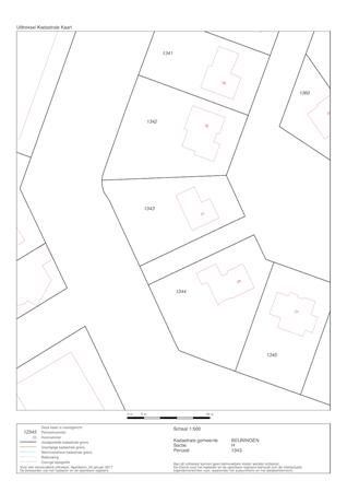 Floorplan - Constantiuslaan 31, 6642 BR Beuningen Gld