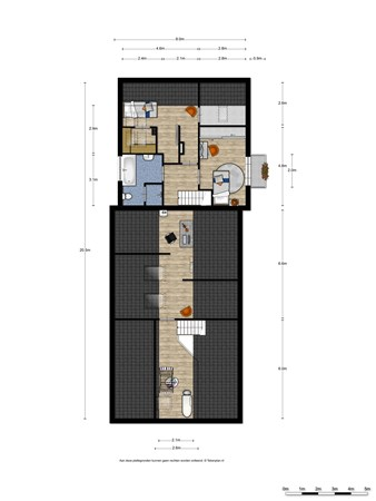 Floorplan - Gelrestraat 4, 6585 XX Mook