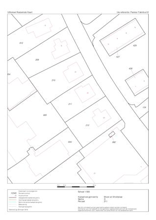 Floorplan - Pastoor Fabritiusstraat 12, 6585 XK Mook