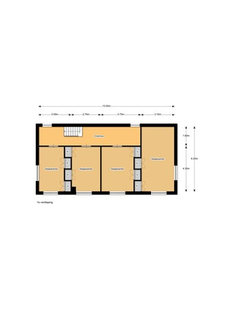 Floorplan - Havenstraat 2, 9411 EB Beilen
