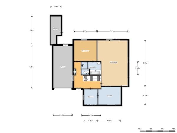Floorplan - Coevorderstraatweg 18, 7914 TM Noordscheschut