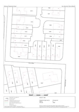 Floorplan - Kleine Beer 43, 7904 LS Hoogeveen