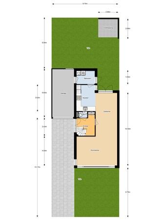 Floorplan - Roef 61, 7944 SX Meppel