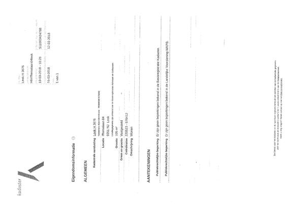 Floorplan - Ifftemalaan 84, 9351 NJ Leek