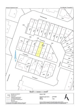 Floorplan - Trompethof 11, 5101 AK Dongen