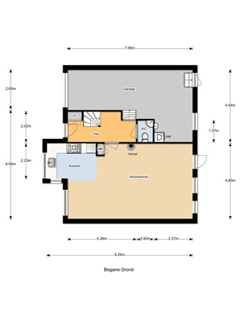 Floorplan - Bieselaar 29, 5109 BA 's Gravenmoer
