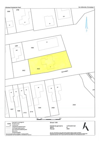 Floorplan - Emmalaan 3, 5109 TA 's Gravenmoer