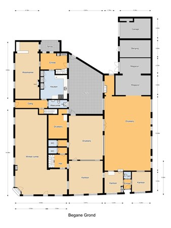 Floorplan - Gasthuisstraat 2, 5104 HR Dongen