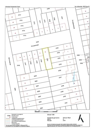 Floorplan - Prinsenstraat 10, 5121 VJ Rijen