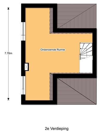 Floorplan - Stobbenveen 22, 5102 GB Dongen