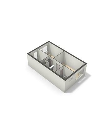 Floorplan - Triangellaan 17, 5101 AG Dongen