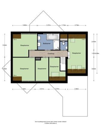 Floorplan - Leibeemd 41, 5121 SL Rijen