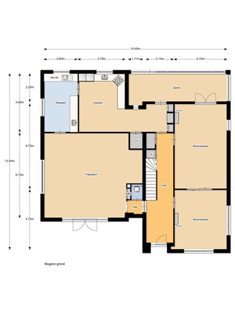 Floorplan - Zuiderzeestraatweg 529, 8091 CP Wezep