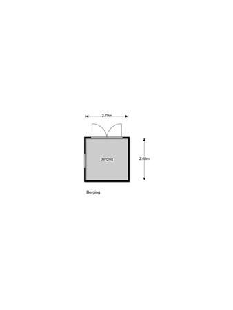 Floorplan - Oranjeboomlaan 10, 8091 BW Wezep