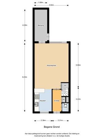 Floorplan - Ringfazant 61, 3435 SG Nieuwegein