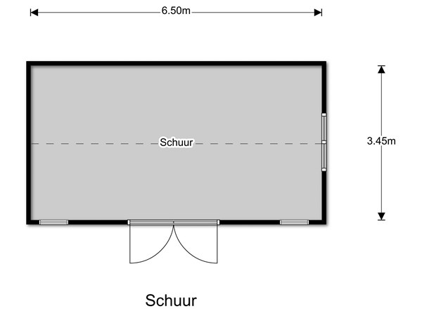 Floorplan - Achtersloot 162, 3401 NZ IJsselstein