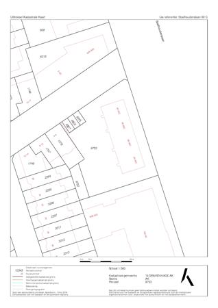 Floorplan - Stadhouderslaan 90C, 2517 JB 's-Gravenhage
