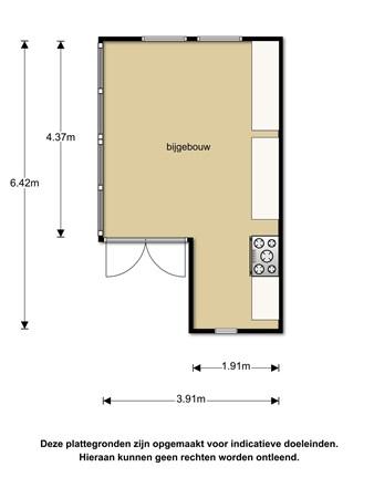 Floorplan - Beulakerweg 165, 8355 AG Giethoorn