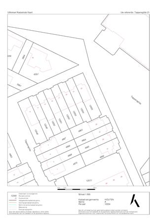 Floorplan - Tappersgilde 21, 3994 CE Houten