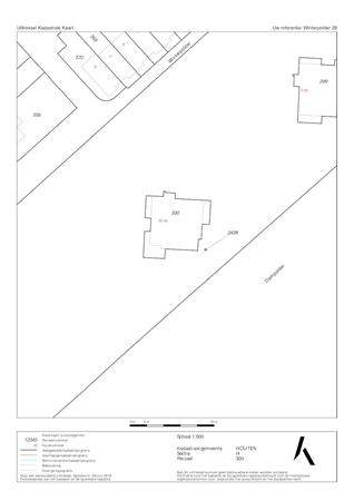 Floorplan - Winterpolder 28, 3991 XZ Houten