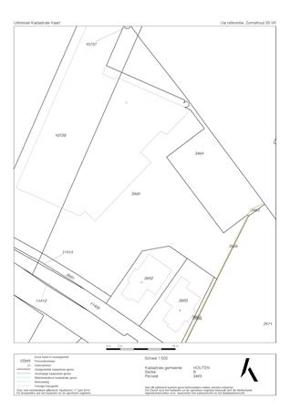 Floorplan - Zonnehout 33, 3991 MV Houten