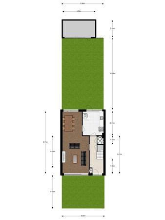 Floorplan - Maanlanderhof 8, 3402 ZW IJsselstein