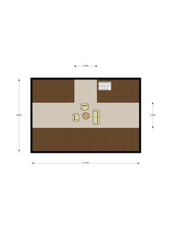Floorplan - Helsdingse Achterweg 16, 4133 NC Vianen Ut
