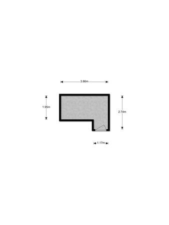 Floorplan - Praagsingel 418, 3404 CT IJsselstein