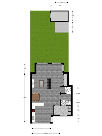 Floorplan - Stephen Sondheimhof 21, 3543 DT Utrecht