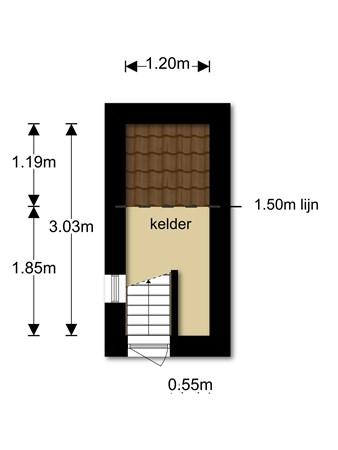 Floorplan - Boschjesstraat 103, 1541 KH Koog aan de Zaan