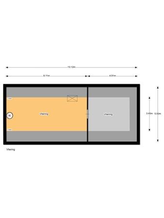 Floorplan - Elburgerweg 1, 8162 NN Epe