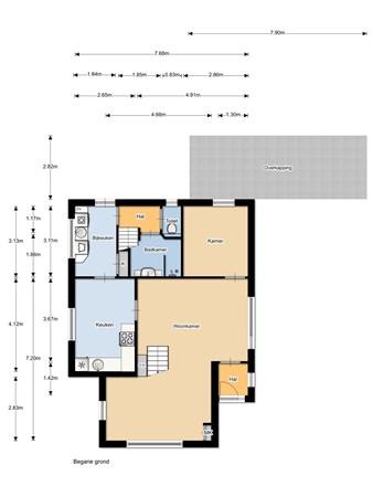 Floorplan - Haverkampsweg 25, 8161 VR Epe