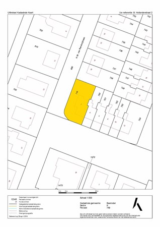 Floorplan - Bernardus Hollanderstraat 2, 1462 XD Middenbeemster