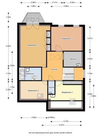 Floorplan - Rijperweg 73, 1462 MD Middenbeemster