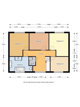 Floorplan - Daalder 4, 1628 PS Hoorn