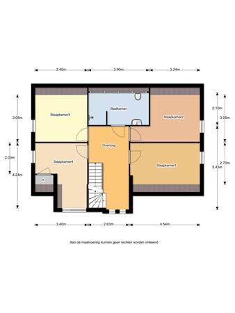 Floorplan - Belthoeve 3, 1462 PN Middenbeemster