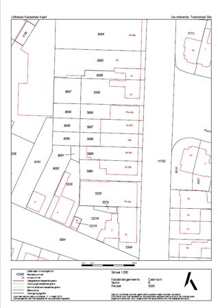 Floorplan - Torenstraat 38A, 1901 EE Castricum