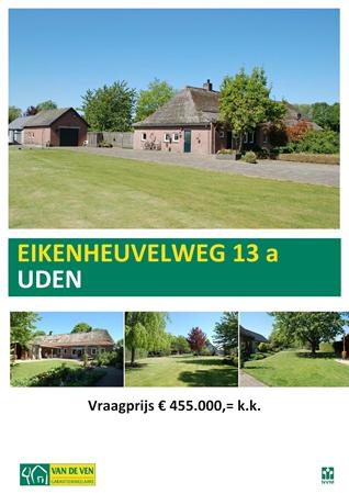 Floorplan - Eikenheuvelweg 13a, 5406 NA Uden