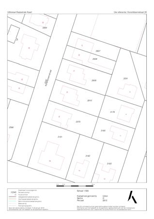 Floorplan - Korenbloemstraat 33, 5409 AX Odiliapeel