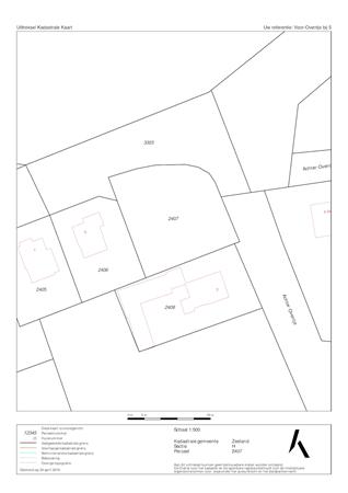 Floorplan - Voor-Oventje, 5411 Zeeland