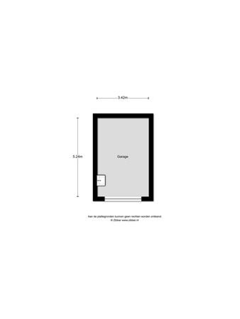 Floorplan - Buiksloterbreek 17, 1034 XC Amsterdam